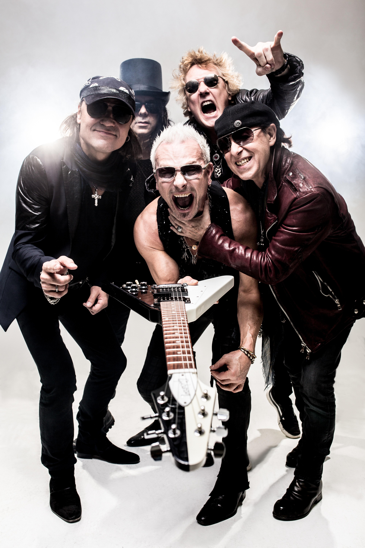 Группа Scorpions  редкие фотографии 8 фото
